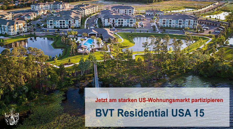 BVT Residential USA 15 Immo Fonds