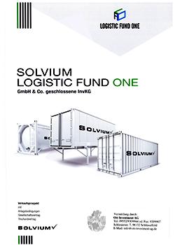 Solvium Logistic Fund One Prospekt Cover 250b Fondsmakler