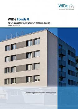 WIDe Fonds 8 Cover Prospekt