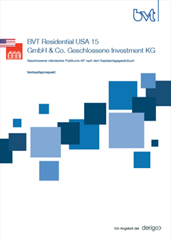 bvt Residential USA 15 Cover Prospekt