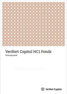 Cover Prospekt Verifort HC 1 Makler für Fonds