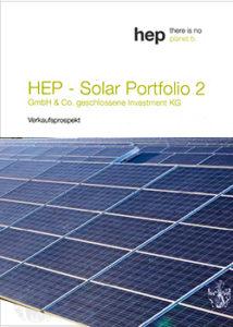 HEP Prospekt Cover Solar Portfolio 2 Module