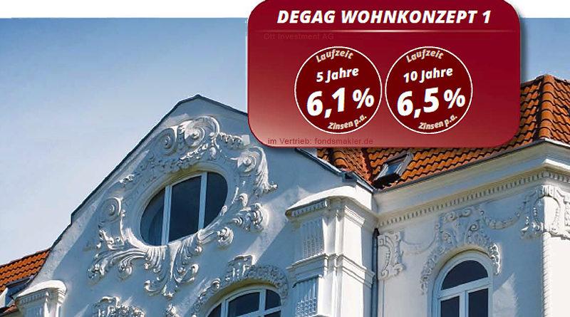 Beschreibung DEGAG Wohnkonzept 1 Geldanlage Fonds Früh Ott